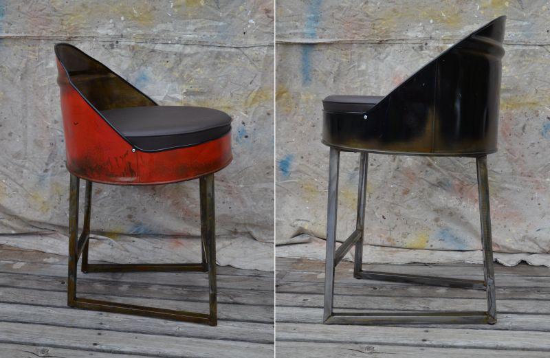 Oil Drum Furniture By Whitesindustrial Brings Rustic Touch