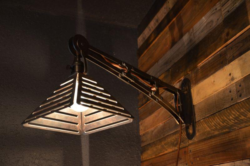 Upcycled pendant lighting