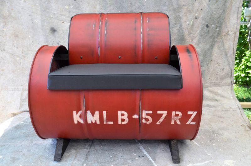 Oil drum furniture by WhiteIndustrial brings industrial essence to homes