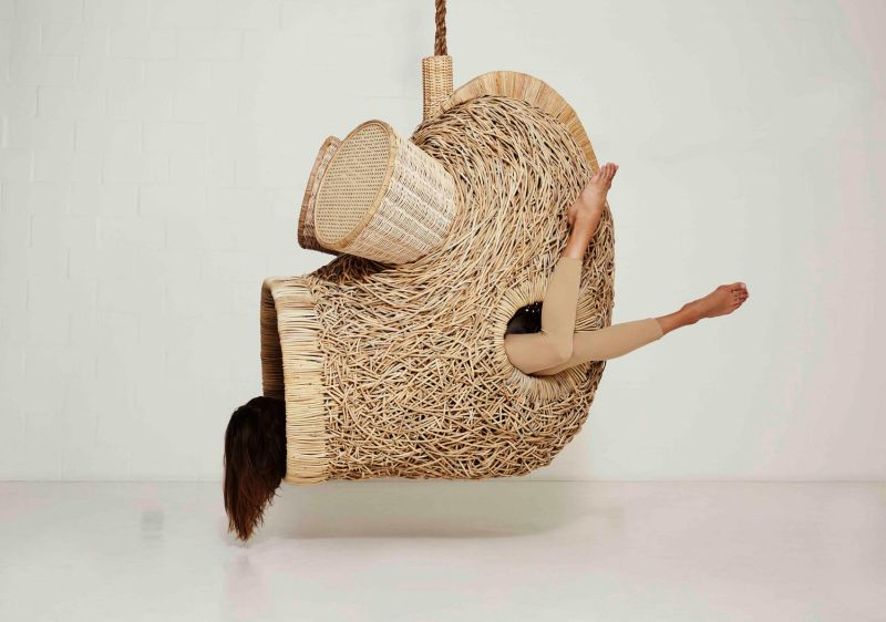 Porky Heferu0027s Life Size Nests Are Sculptural Hanging Chairs