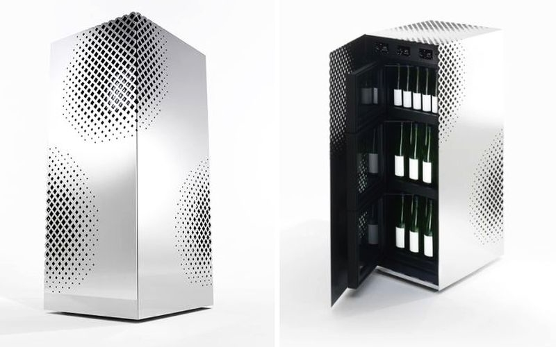 Nendo's Sake Master cellar ensures optimal environment for bottles