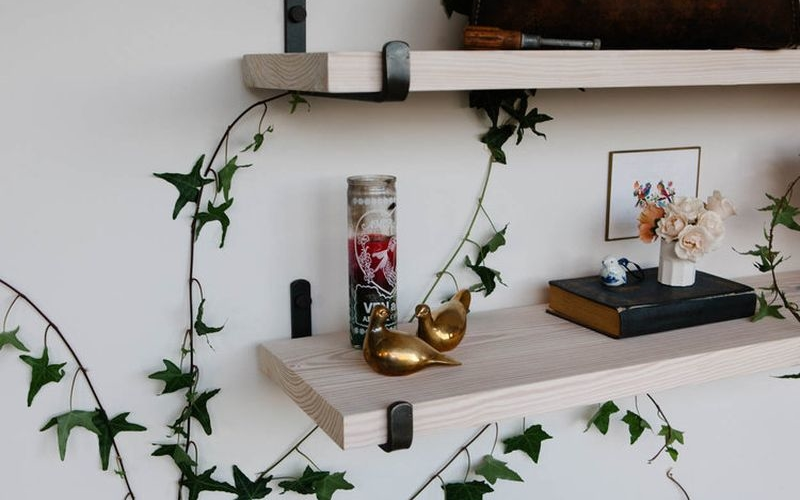 Shelf brackets by KKDW for minimalistic home décor