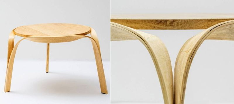 Steam bending furniture by Bar Gantz. Steam bending furniture that will make you drop down your jaws