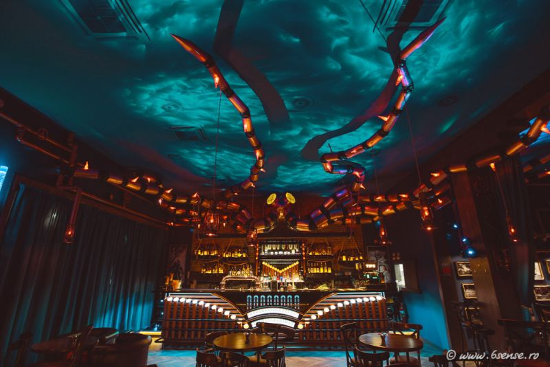 The Abyss Pub gets mind-boggling steampunk interiors
