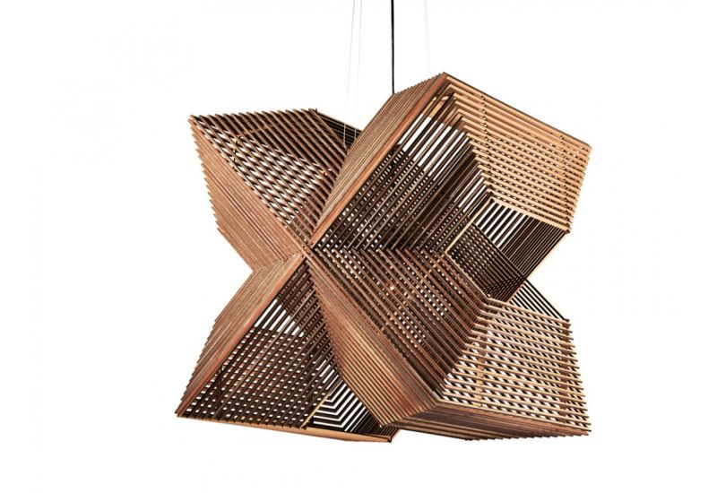 Sliced plywood lamp, Sliced plywood pendant light, wooden lampshade, Odesi, Alex Groot Jebbink, designer pendant lamp, pendant lamps, ceiling lighting fixture, wooden pendant light, wooden pendant lamp, Angles lamp, Angles light, Angles pendant lamp, laser-cut wooden pendant lamp, hanging lights, wooden hanging lamp, modern pendant lighting, Rectangular pendant lamp, Sliced Pendant lamp,