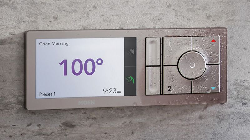 U by Moen is app/cloud-based smart shower system