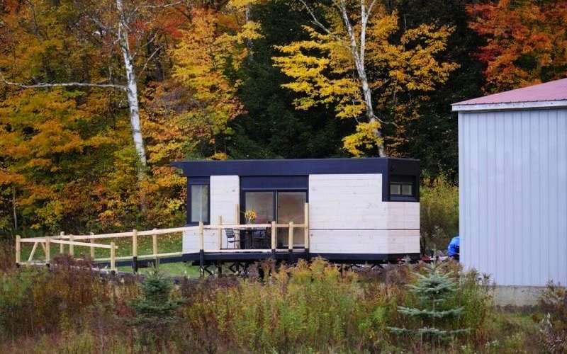 LineSync Architecture's Wheel Pad is disabled-friendly tiny home on wheels