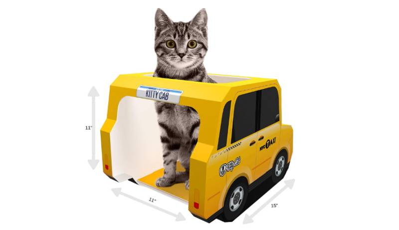 Kitty cab by Suck UK