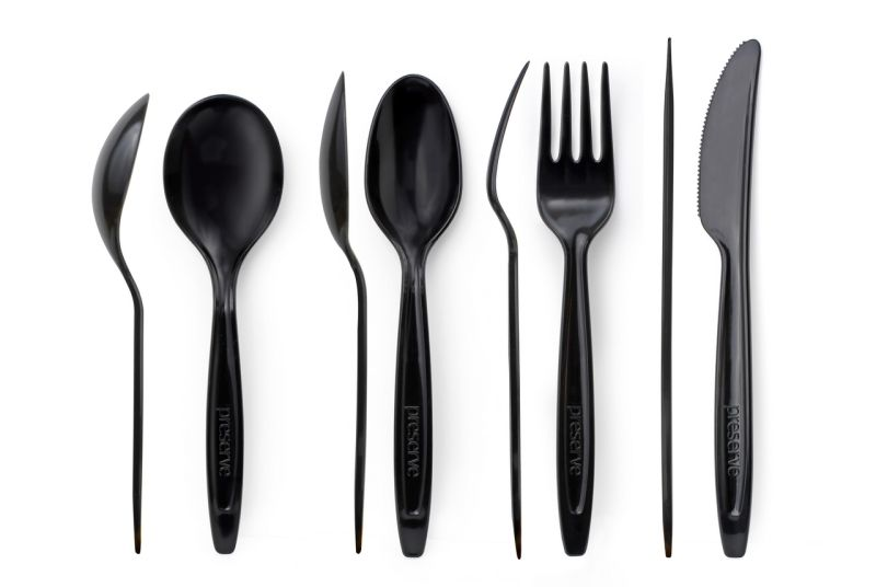 Preserve branded recycled plastic cutlery designed for a single-use  sc 1 st  HomeCrux & Preserve branded recycled plastic cutlery designed for a single-use ...