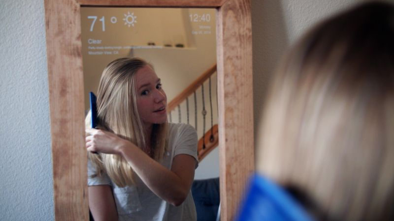 How to build Raspberry Pi-powered smart mirror at home
