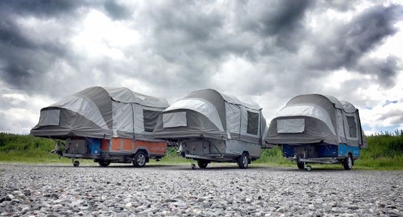 Air Opus is world's first self-inflating camper tent