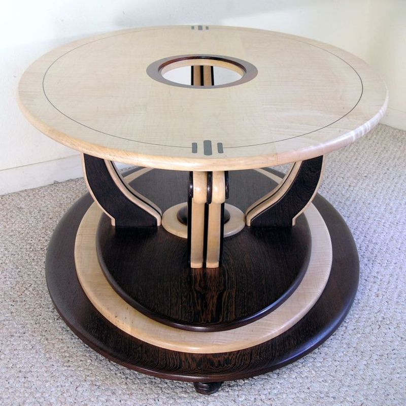 Art Deco-inspired coffee table by Louis Fry