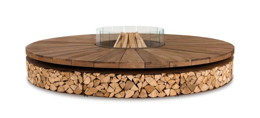 Artu outdoor fire pit by AK47 Design