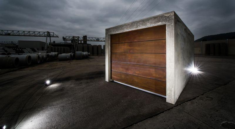 beton brut a prefabricated concrete garage for your car. Black Bedroom Furniture Sets. Home Design Ideas