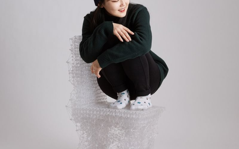 Connect chair by Jungsub Shim made with 3D printing pen