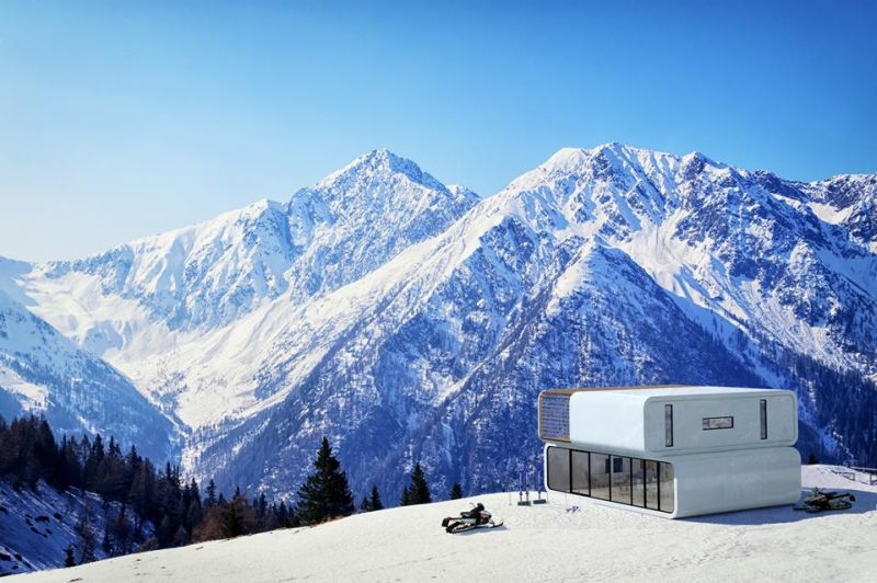 coodo by ltg is prefab modular house for any location rh homecrux com Coodos Food Home Coodo