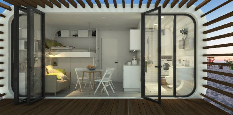 Coodo by LTG is prefab modular house that can be setup in any location