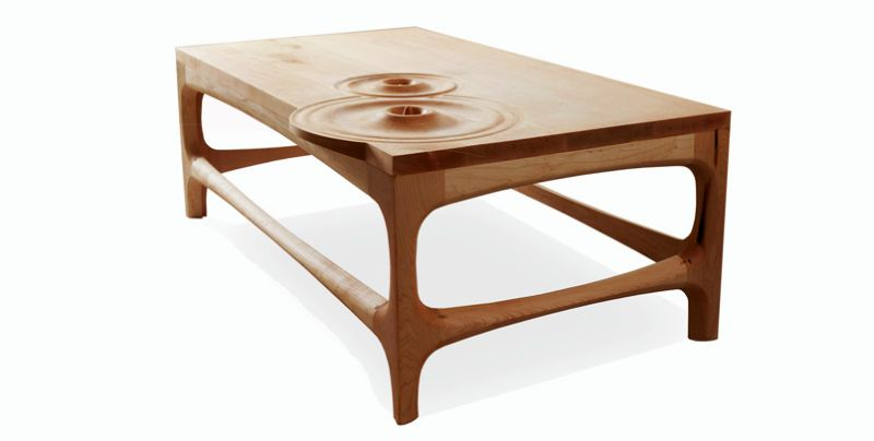 Drops coffee table by Jeffrey A Day