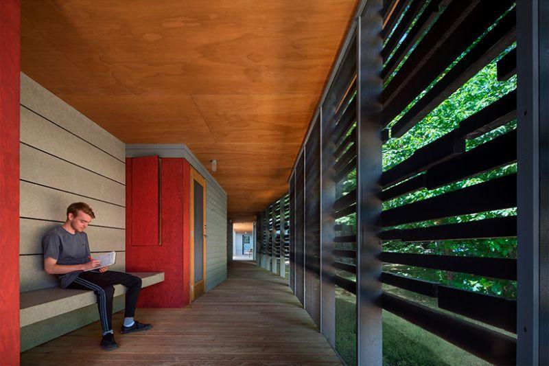 Fallingwater Institute new cabins by Bohlin Cywinski Jackson