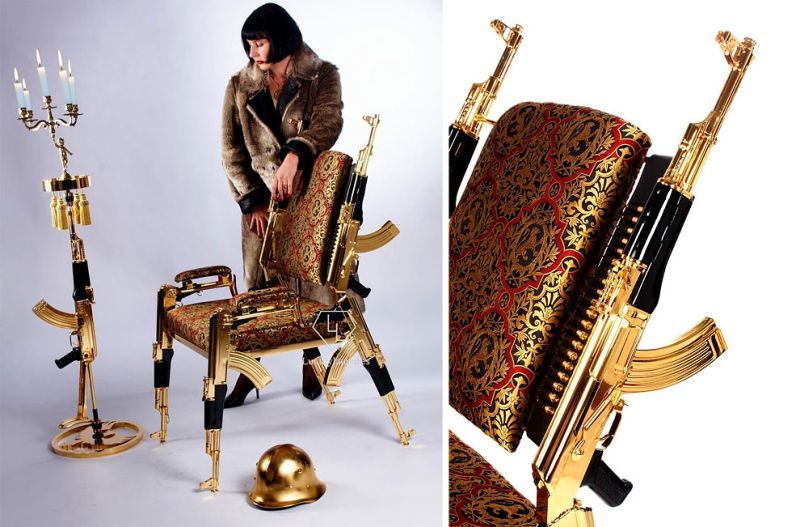 Gold-plated-AK-47-Chair-by-Weber-Rainer_