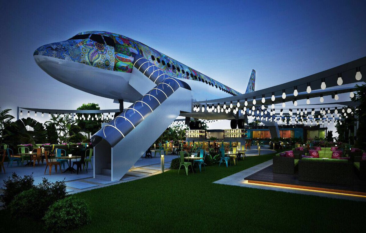 Hawai Adda Airplane Restaurant Buzzing Place To Checkout In Ludhiana