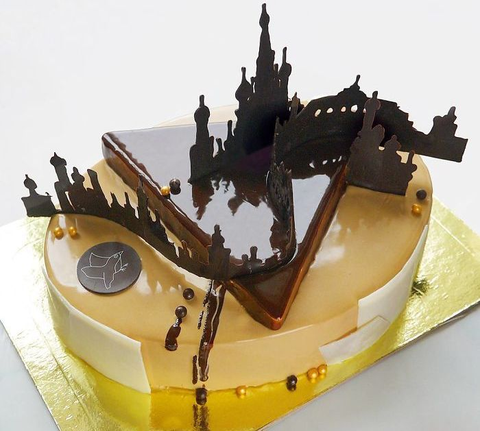 Mirror Glaze Cakes