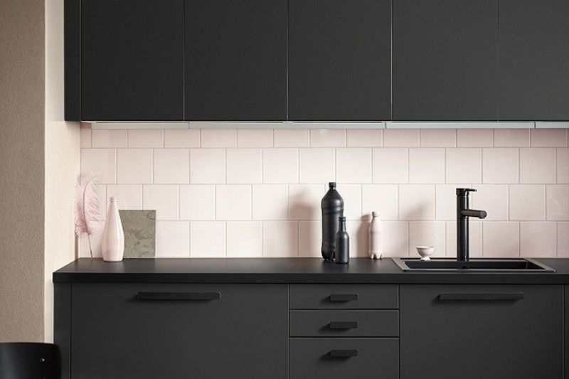 Ikea Kungsbacka Kitchen Cabinet Made From Recycled Plastic Bottles