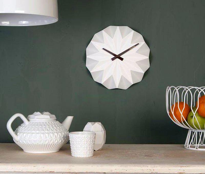 Karlsson Origami Wall Clock