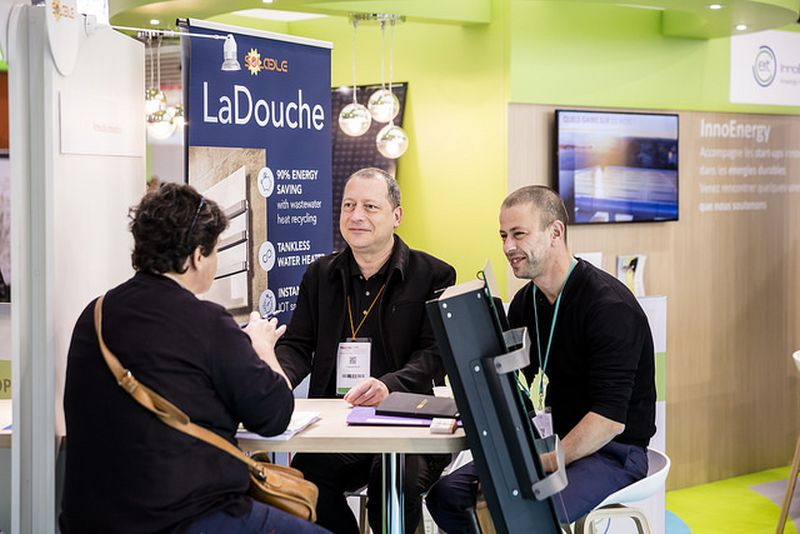 LaDouche water heater by Solable designs