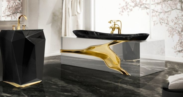 Lapiaz bathtub by Maison Valentina