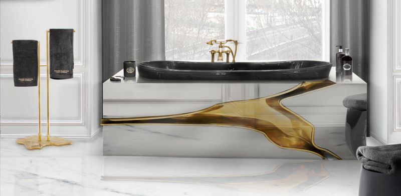 Lapiaz bathtub by Maison Valentina