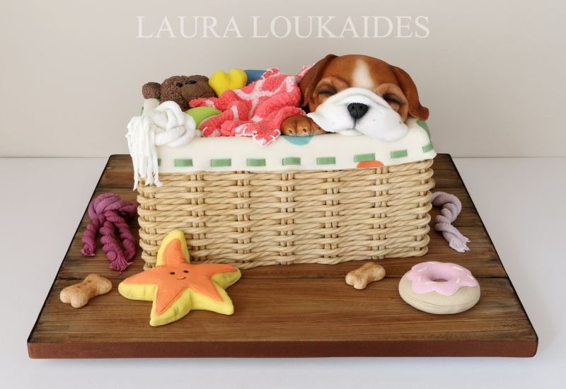 Laura Loukaides bakes cakes that are everything but cakes