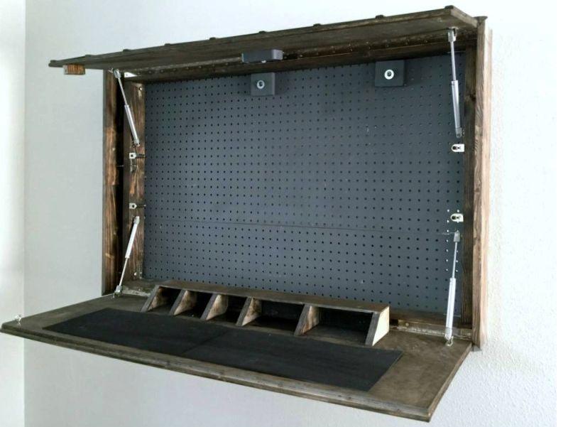 Mirror Gun Cabinet By Corey