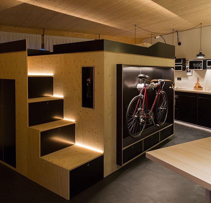 Moormann S Kammerspiel Is All In One Living Cube For Small