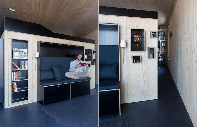 Moormann's Kammerspiel is all-in-one living cube