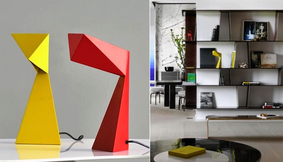 Origami 6 Lamp by Francois Champsaur