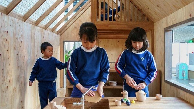 Ouchi Playhouse by Hibinosekkei