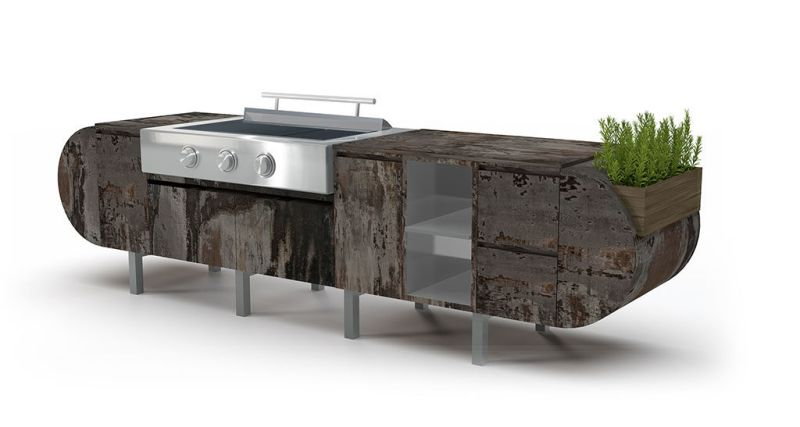 Outdoor kitchen by Brown Jordan Outdoor Kitchens