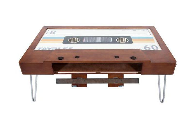Taybles Cassette Tape Coffee Table Brings Back Memories Of The S - Cassette coffee table
