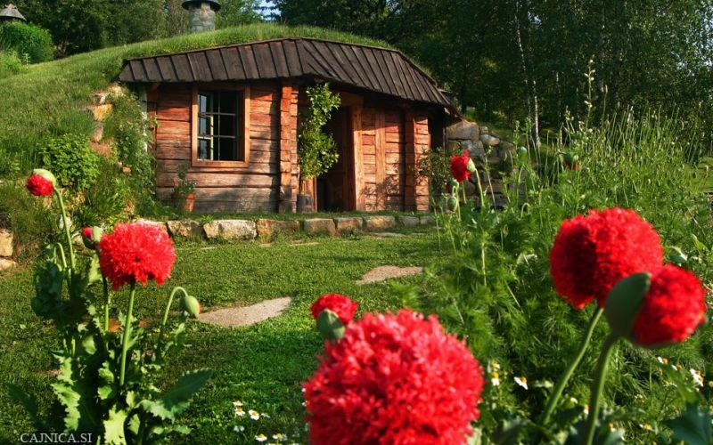 This Hobbit House portrays seamless harmony between man and nature