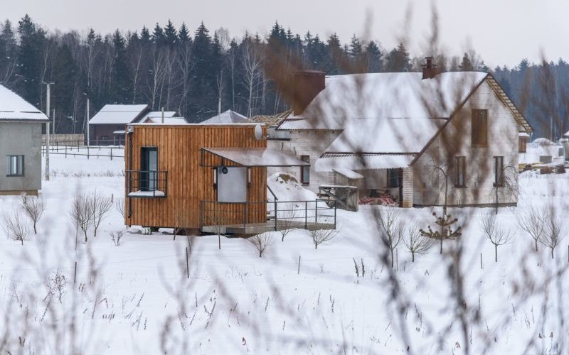 16-square-meter tiny house stays cozy with insulated exteriors