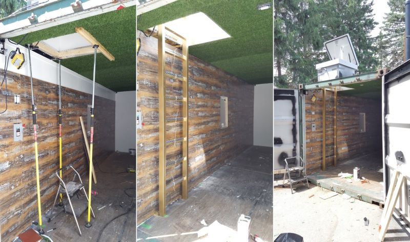 Man Transforms Shipping Container Into Underground Party