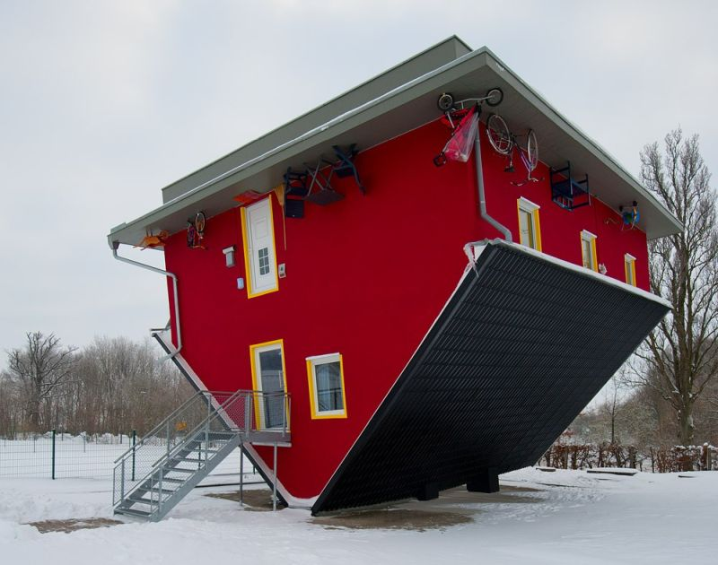 Dizzying upside down houses from around the world homecrux The upside house