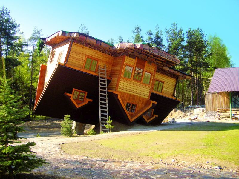 Dizzying Upside Down Houses From Around The World Homecrux