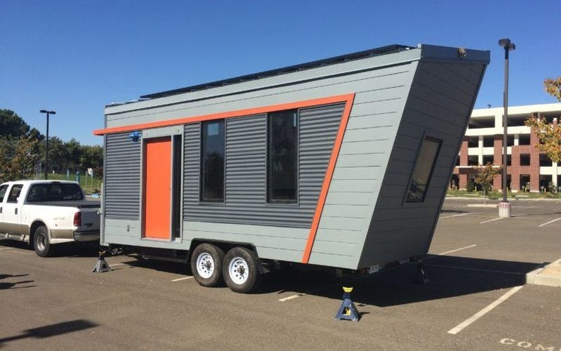 Tiny House On Wheels off-grid tiny-house-on-wheels leaves no traces behind