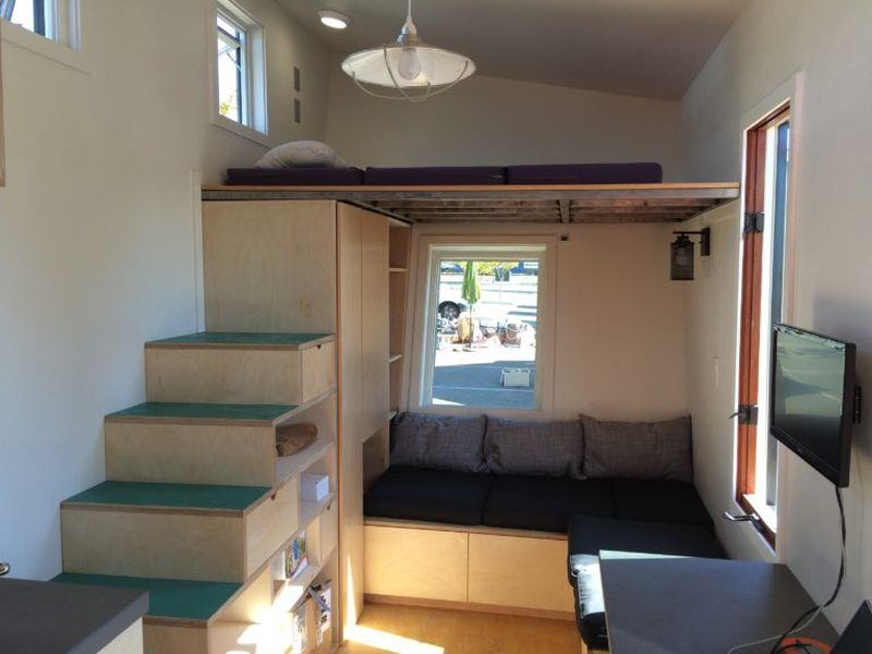 Wedge Is Off Grid, Tiny House On Wheels That Leaves No
