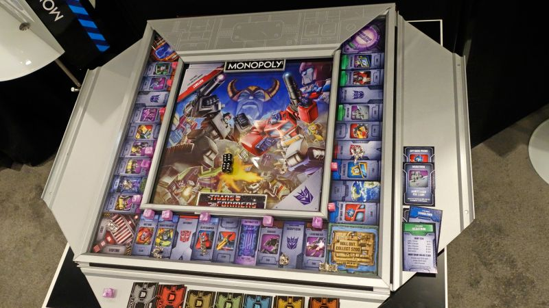 Winning Solutions introduces Transformers Monopoly