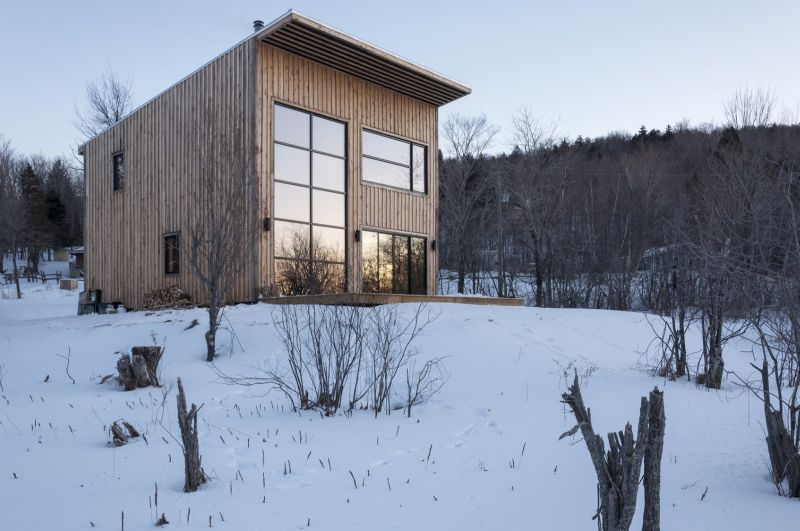 Wood Duck is self-build wooden cabin by a young carpenter