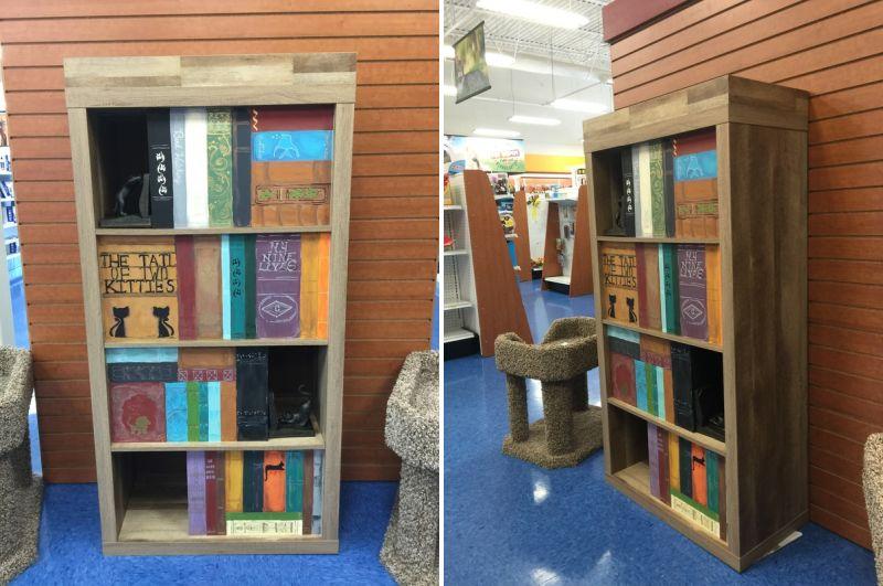 cataflauge bookcase