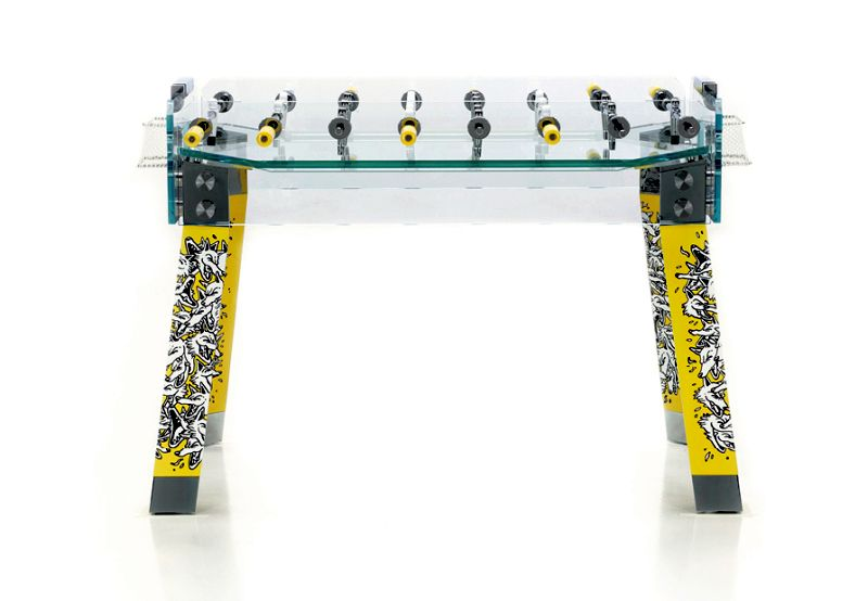Special Edition Contropiede Foosball Table Signed By Italian Artist VAPS - Italian foosball table